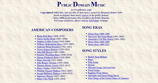 5个无版权背景音乐网站盘点插图4