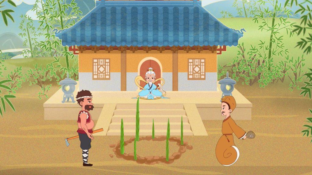 APP动画:相聚竹贝山 共享财富路