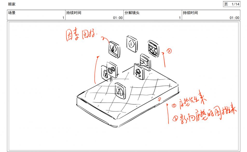 2.5D产品动画:顾家布艺插图3